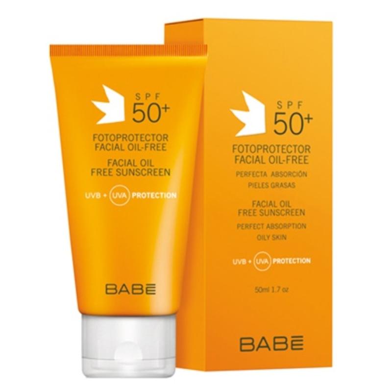 Babé olajmentes fényvédő arckrém SPF50+ 50 ml