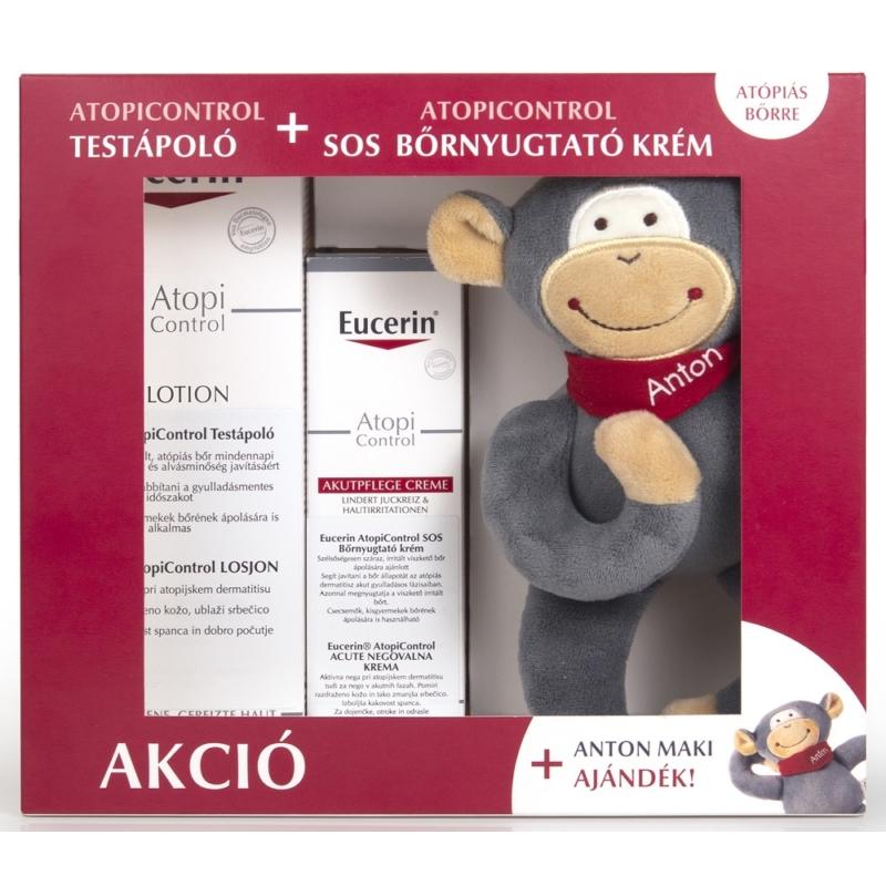 EUCERIN AtopiControl csomag atópiás bőrre