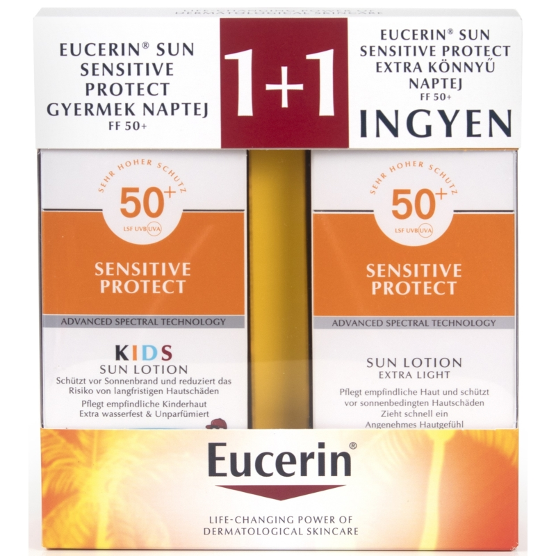 EUCERIN Sun Sensitive Protect gyermek csomag
