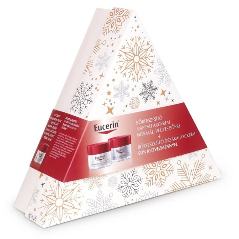 EUCERIN Hyaluron Filler + Volume-Lift bőrfeszesítő csomag normál, vegyes bőrre