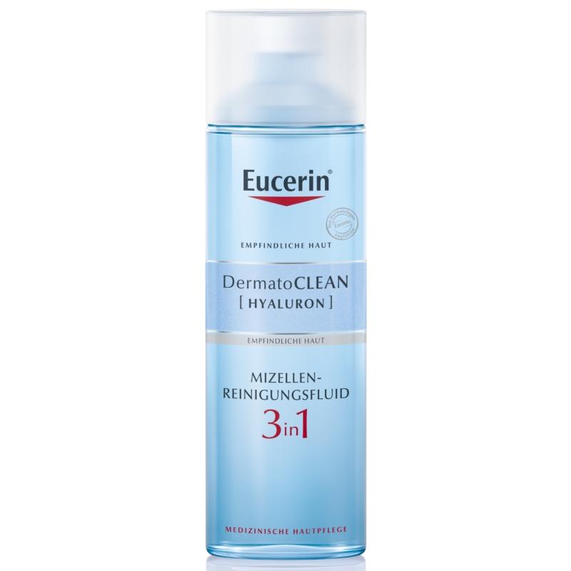 EUCERIN DermatoCLEAN [HYALURON] 3in1 micellás arclemosó 200 ml