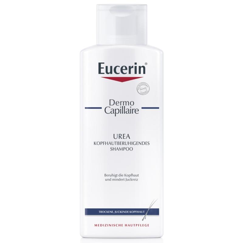 EUCERIN DermoCapillaire 5 % Urea sampon száraz, viszkető fejbőrre 250 ml