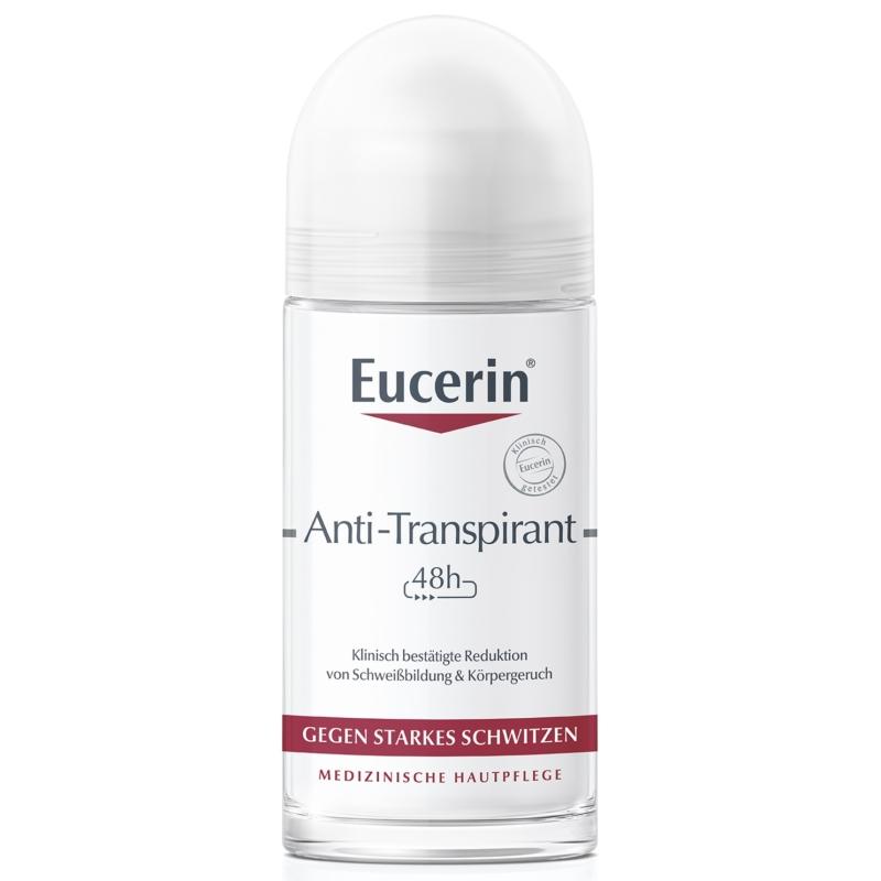 EUCERIN izzadásgátló golyós dezodor (48h) 50 ml