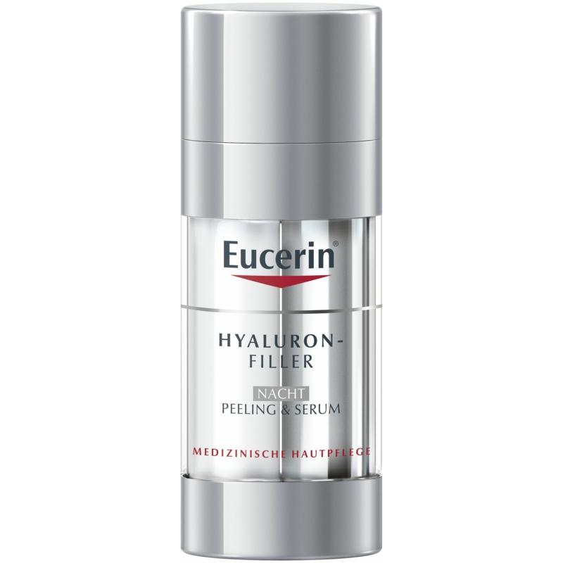 EUCERIN Hyaluron-Filler éjszakai bőrmegújító peeling és szérum 30 ml