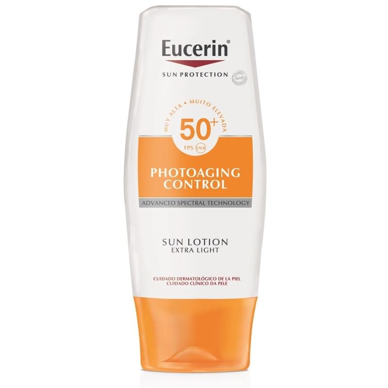 EUCERIN Sun Photoaging Control naptej testre FF50+ 150 ml