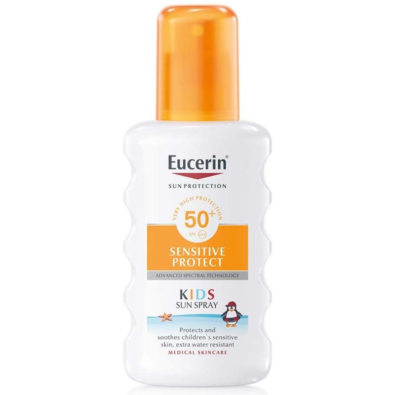 EUCERIN Sun Sensitive Protect gyermek napozó spray FF50+ 200 ml