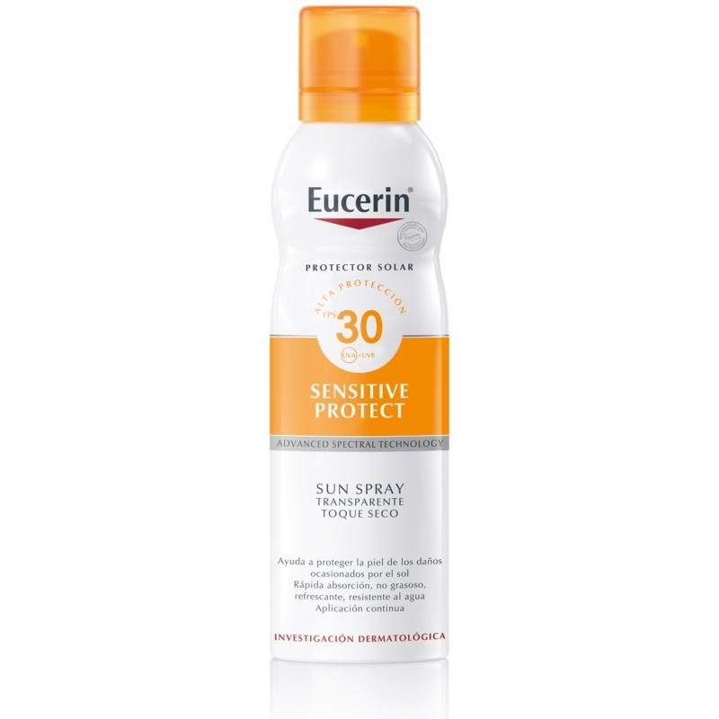 EUCERIN Sun Sensitive Protect színtelen napozó aerosol spray FF30 200 ml