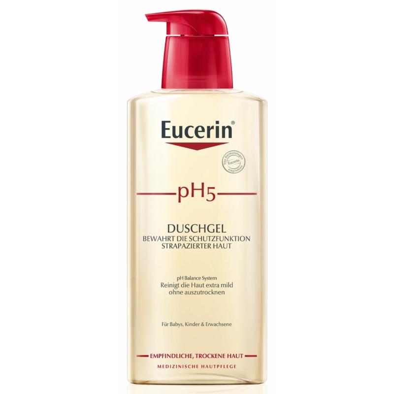 EUCERIN pH5 bőrkímélő tusfürdő 400 ml