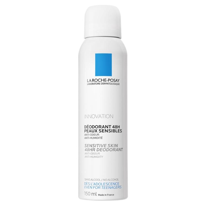 LA ROCHE-POSAY 24 órás fiziológiás dezodor spray érzékeny bőrre 150 ml