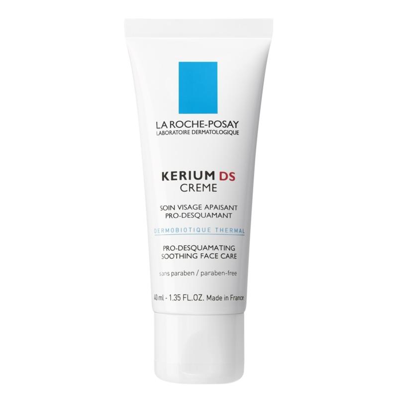 LA ROCHE-POSAY Kerium DS krém nyugtató arcápoló bőrhámlás ellen 40 ml