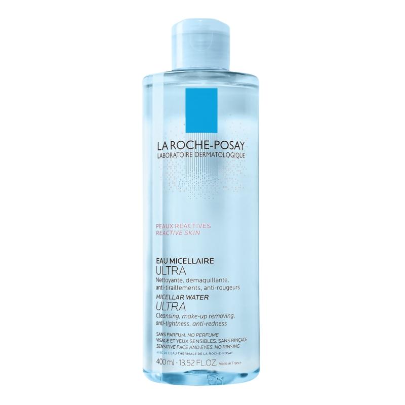 LA ROCHE-POSAY micellás arctisztító Ultra túlérzékeny bőrre 400 ml