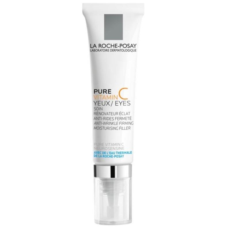 LA ROCHE-POSAY Pure Vitamin C ránctalanító-hidratáló szemkörnyékápoló 15 ml
