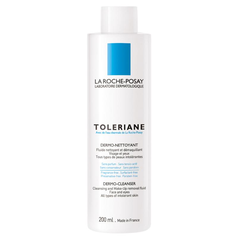 LA ROCHE-POSAY Toleriane nyugtató-védő arctisztító tej 200 ml