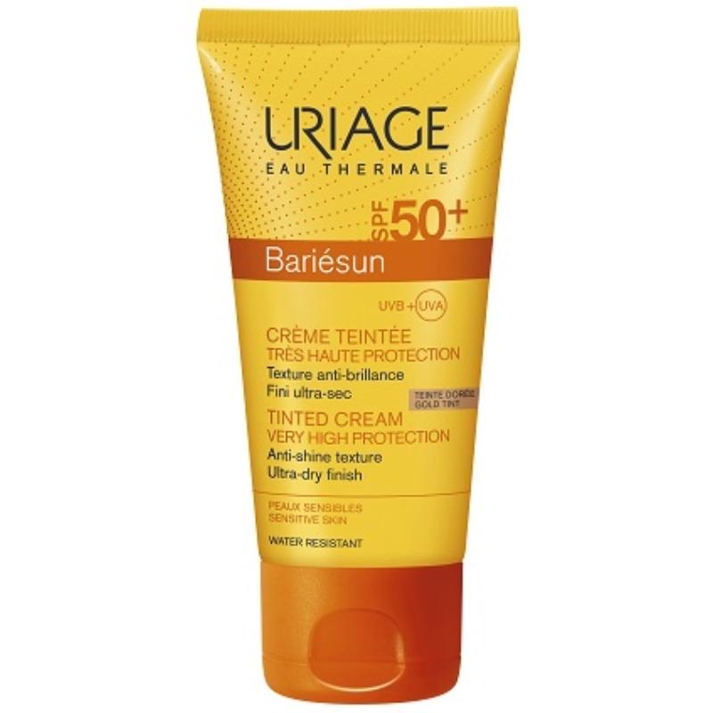 URIAGE Bariésun színezett arckrém sötét SPF50+ 50 ml