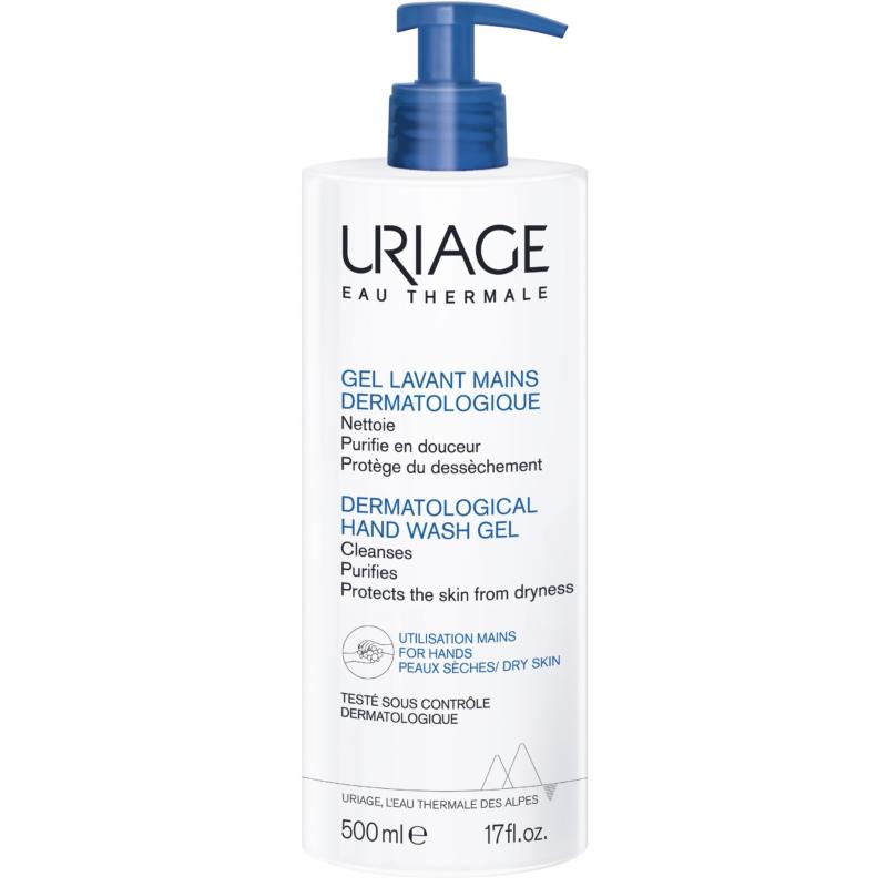 URIAGE Hidratáló, bőrkímélő kézmosó gél 500 ml