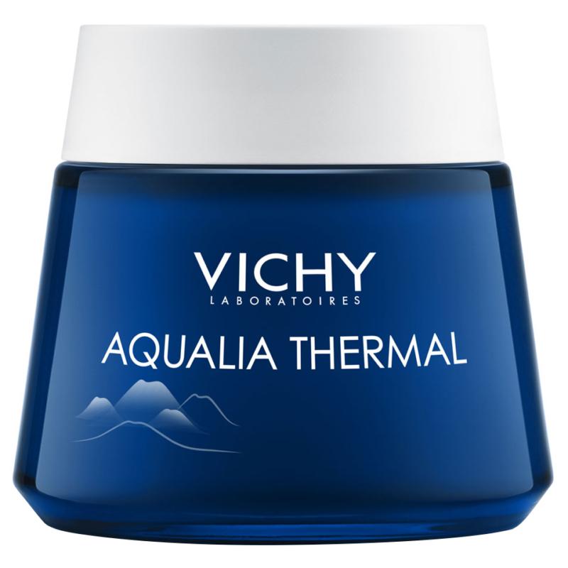VICHY Aqualia Thermal Spa éjszakai bőrfeltöltő krém-gél 75 ml