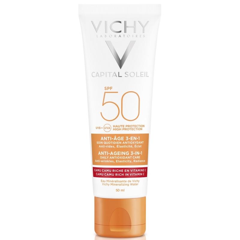 VICHY Capital Soleil öregedésgátló napvédő krém SPF50 50 ml