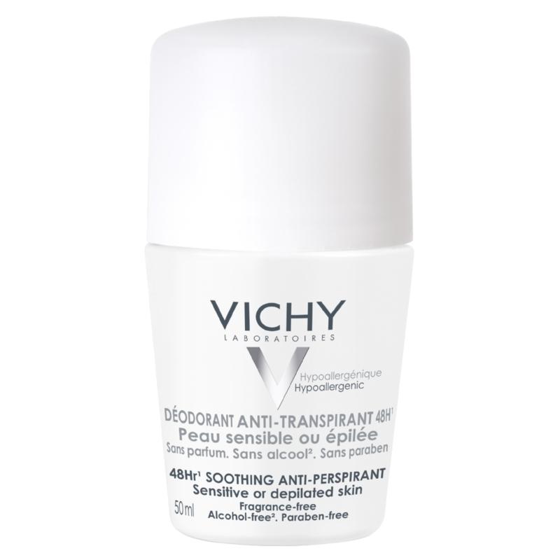 VICHY izzadságszabályozó golyós dezodor érzékeny, epilált bőrre 50 ml
