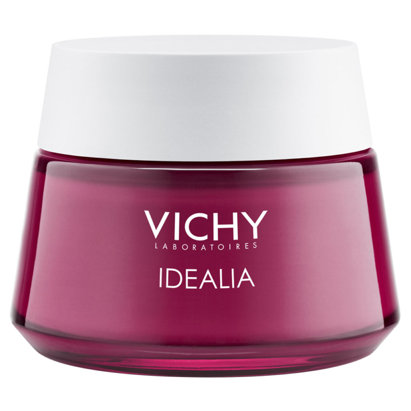 VICHY Idéalia bőrkisimító, energizáló arckrém száraz, nagyon száraz bőrre 50 ml
