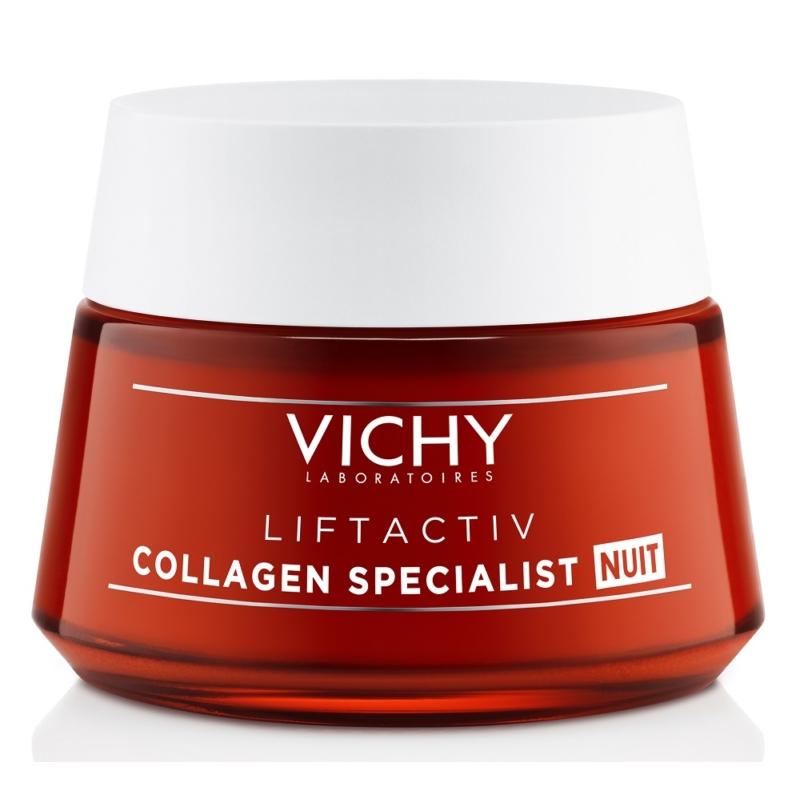 VICHY Liftactiv Collagen Specialist éjszakai arckrém 50 ml